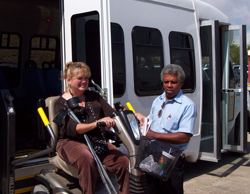Wheelchair Passenger